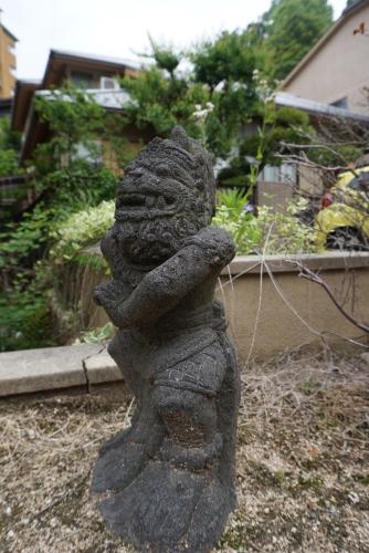 Guardian Statue at Tansan Sengen Koen