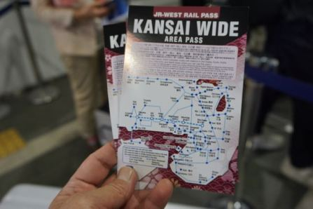 Our ticket to exploring Kansai