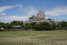 Himeji Castle taken from the open field