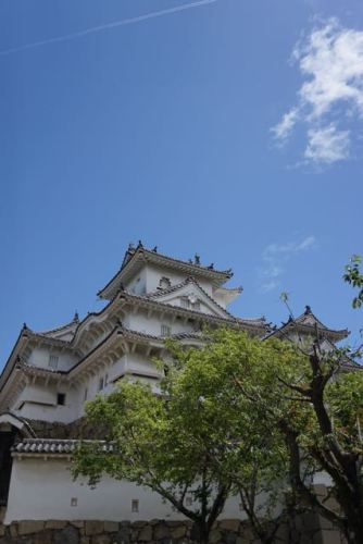 The main keep of Himeji Castle