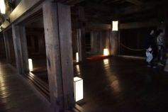 One of the rooms on the 2nd floor of Himeji Castle