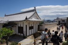 Building for defense in Himeji Castle
