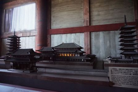 Model of Todaiji when it was first built