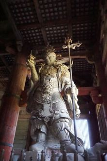 One of the pair of guardian in Daibutsuden