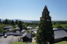 View from the veranda in Nigatsudo