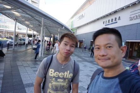 Wefie in Nara JR station
