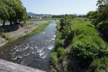 This stream joins Katsura River
