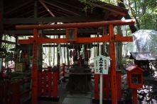 A small shrine in Nonomiya Shrine
