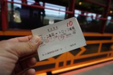 Our Sagano train tickets