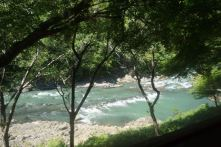 Rapids at Hozugawa River