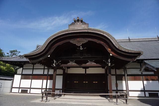 The Hinmaru-goten Palace is out of bounds to visitors