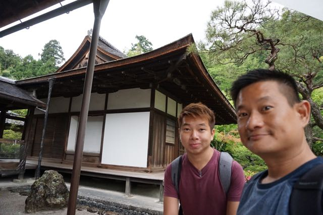 Taking a wefie at Togu-do