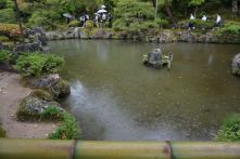 One of the 3 ponds in Ginakakuji