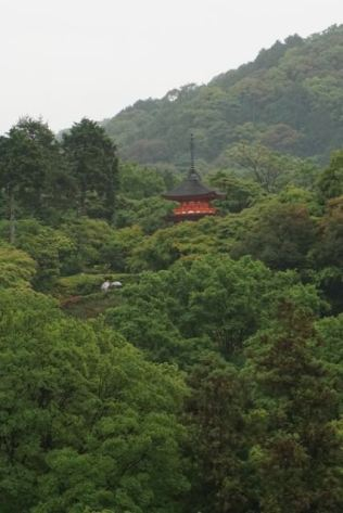 We can spot another pagoda at Nio-mon