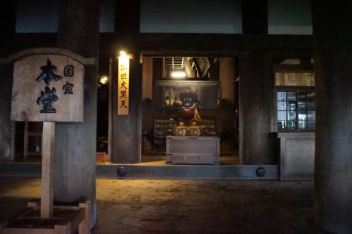 Hondo in Kiyomizu-Dera