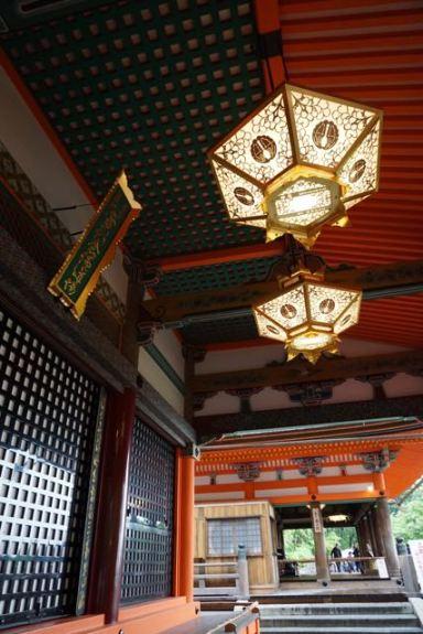 Okuno-in Hall in Kiyomizu-Dera