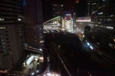 View of Osaka from HEP5 Ferries Wheel