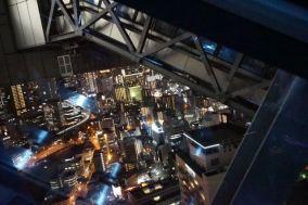 The floating escalator of Umeda Sky Building