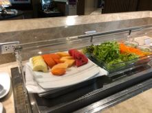 Fruits section in Royal Orchid Lounge at Concourse E