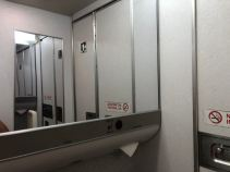 Tissue in the lavatory
