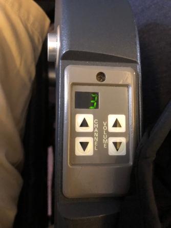 Old school in flight radio panel