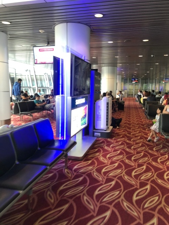 Waiting area in KLIA