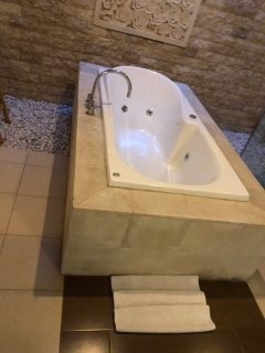 Each of the bathtub comes with Jacuzzi function