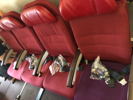 Seats in Economy Class cabin