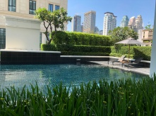 Swimming pool in Grande Centre Point Ploenchit