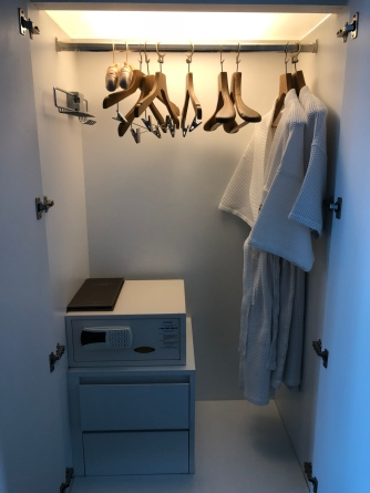 Wardrobe in the master bedroom