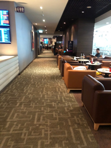 Part of seating area in Royal Silk Lounge