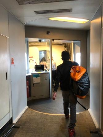 Boarding Malindo Air B737-800