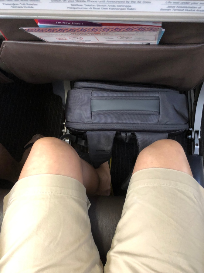 Legroom is very good in the Economy Class cabin