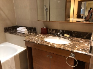 Sink area in second bathroom