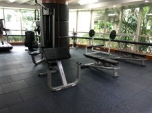 Simple weights machine in the gym