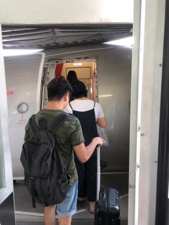 Boarding Jetstar A320-200