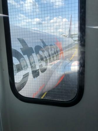 Jetstar A320-200 close up
