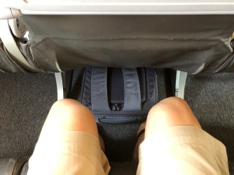 Legroom is pretty good onboard Jetstar A320-300
