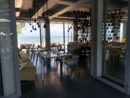 ISea Restaurant offers beachfront alfresco dining