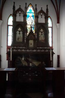 Inside the St Joseph Cathedral