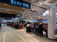 We had our brunch at the food court on level 3 in Gimpo Airport