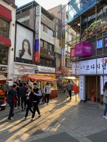 Suwon has more locals than foreigners visiting