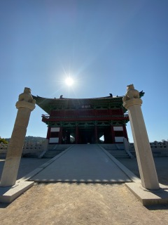Entrance to the Woljeonggyo Bridge