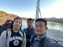 Another wefie on the ferry to Nami Island
