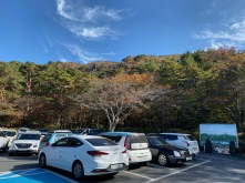 The second car park is right at the entrance to Yeongsil Trail
