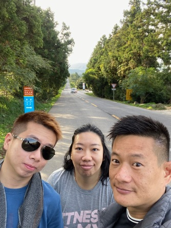 Wefie at Mysterious Road