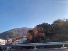 Driving from Busan to Gyeongju