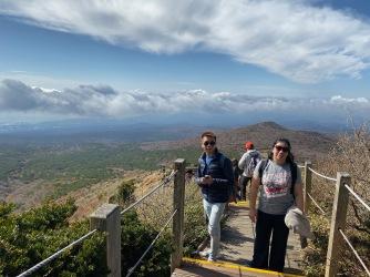 We were pretty high up on Hallasan