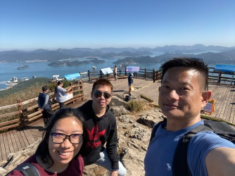 We are at the summit of Mireuksan