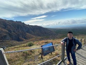 On Yeongsil Trail with Hallasan